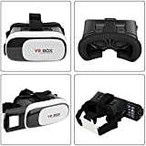 Crazy Sutra VR Headset VR Box 3D Virtual Reality VR Glasses with Adjustable Lenses - Compatible VR for iPhone 7, 7 Plus, 6, iPhone 5, Lenovo K4 Note, Moto G4, Android Phones