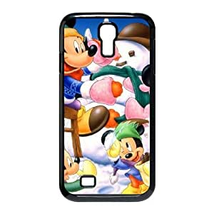Samsung Galaxy S4 I9500 Cell Phone Case Black Minnie Mouse Wmzeoa Hard protective Case Shell Cover