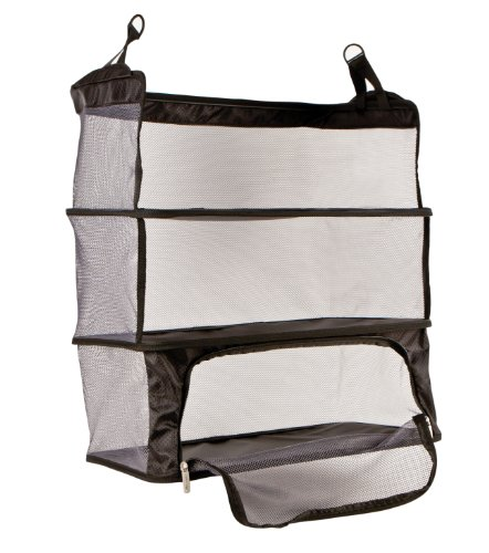 travelon-deluxe-packable-shelves-with-zippered-compartment-black-one-size