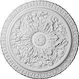 Ekena Millwork CM28NI 28 3/4-Inch OD Nicole Ceiling Medallion