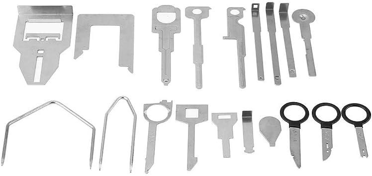 Werkzeug Zum Entfernen Des Radios 38 Stück Autoradio Zum Entfernen Des Autoradios Installieren Sie Das Tool Key Kit Rot Auto