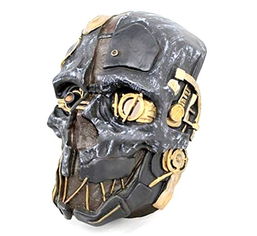 Dishonored Mask Corvo Attano Rat Urethane Costume Cosplay Halloween + Game Coin - Dishonored Costume Corvo