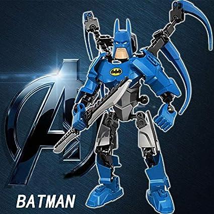 The Avengers Alliance Captain America Iron Man Batman Hhulk Green Lantern Joker Assemble Model Robot Toy for Children Toys
