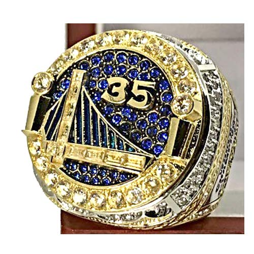 MVPRING Warriors Championship Ring Replica 2018,Integration Ring, Can Not Be Covered,Size 8-14 (13, -