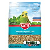 Kaytee Forti Diet Pro Health Bird Food for Parakeets, 25-Pound