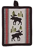 Kay Dee Designs R3302 Simple Living Moose Printed Woven Potholder