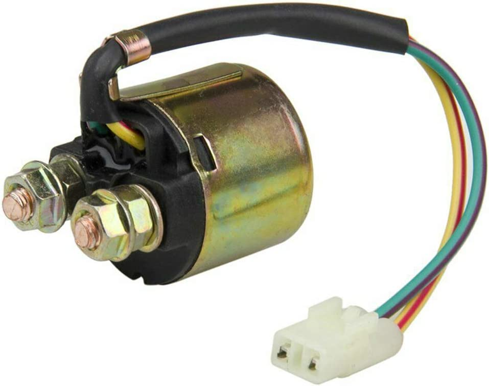 Pandiki Starter Relay Solenoid SND6073 Accessory Replacement for solenoid relay ATV TRX300 Fourtrax 1988-2000 300