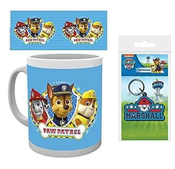 Amazon.com: Juego de taza de café con diseño de Patrulla ...