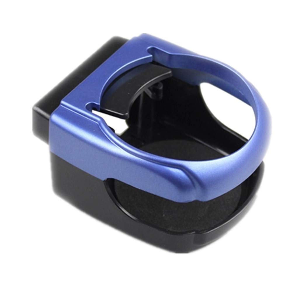 XU-XIAZHI,Ayuda Universal del Tenedor de Botella de la Bebida de la Taza de la Salida de Aire del camión del Coche Universal del Coche(Color:Azul)