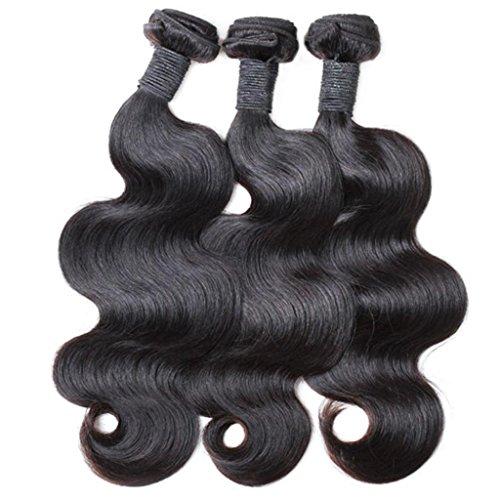 Vedar Beauty Women's Unprocessed 6A Brazilian Virgin Hair Body Wave Human Hair Extension 3Pcs Lot 12Inch 14Inch 16Inch