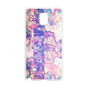 Happy Bangerz Fashion Comstom Plastic case cover For Samsung Galaxy Note4
