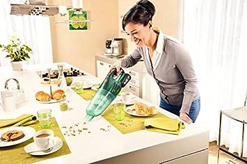 Transparent 18 V Gr/ün 45 W Bosch Home and Garden PAS 18 LI Aspiratore con Batteria al Litio