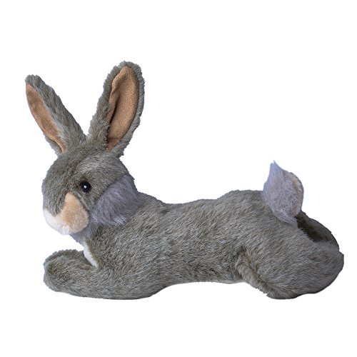Hare Plush Squeaky Dog Chew Toys PUPTECK
