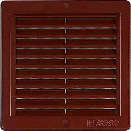 Lü ftungsgitter Insektennetz edelstahl Kunststoff ASA Wetterschutz Lamellengitter Gitter 5. 250 x 250 mm edelstahl MKK