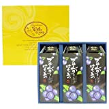 Man-nen honey gift set (blueberry honey 3 pieces)