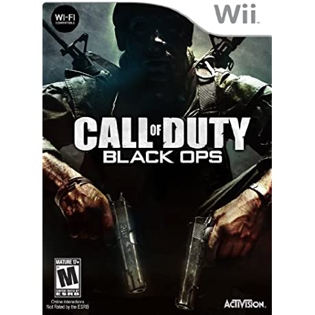 Call Of Duty Black Ops Nintendo Wii