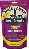 Walk About Dog Treat Jerky Goat Review