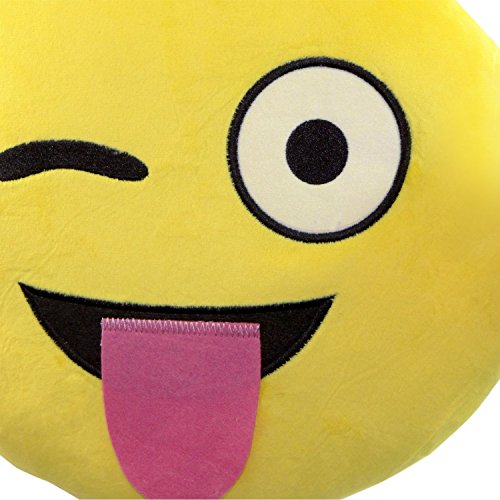 Smiley Emoticon Yellow Cushion Stuffed product image