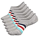 No Show Socks Women Non Slip Low Cut Cotton Liner Sports Casual Socks 6 Pairs