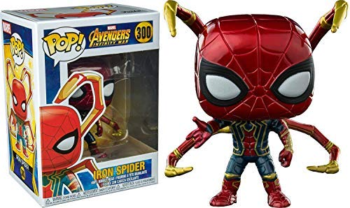 Funko Pop: Avengers Infinity War - Iron Spider with Legs Collectible Figure, Multicolor -