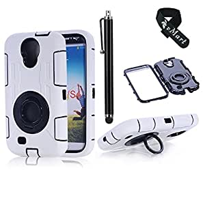 vMart Camera Appearance Design Hybrid Hard Case With Stand Case Cover for Samsung Galaxy S4,vMart-White
