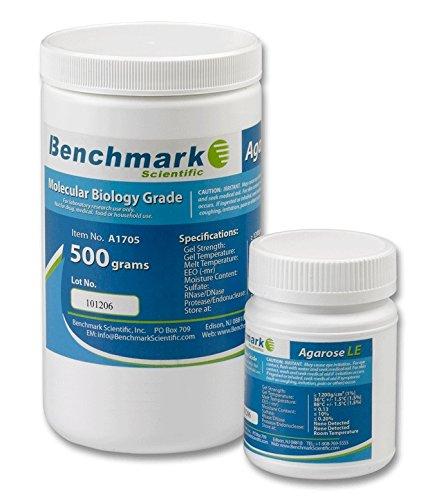 Benchmark Scientific A1701 Organic Solvent Free Agarose LE, 100g Capacity ()