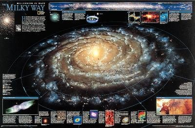 3162-P - The Milky Way Chart - The Milky Way Chart - Each