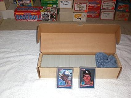Amazoncom 1986 Donruss Baseball Complete Set 660 Cards