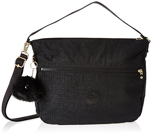 Shoulder Pylon Fenna Black Bag Kipling Emb Black Women's BwSxqBRf