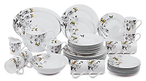 Success Butterfly Collection 40 Piece Dinnerware (Collection 40 Piece Dinnerware)