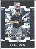 A.J. Pollock (RC - Rookie - Prospect) Arizona Diamondbacks - 2009 Donruss Elite Extra Edition Baseball Card # 17 - MLB Trading Card