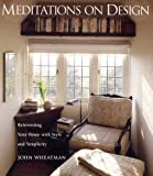 Meditations on Design, John Wheatman, 1573248231