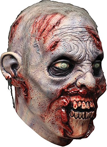 Adult Revenant Undead Zombie Gory Gross Full Latex Mask Costume Tb26506 -