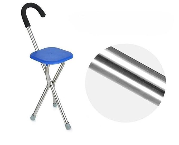 Nwyjr stampelle cane sedile bastone sedile bastone sedie a tre
