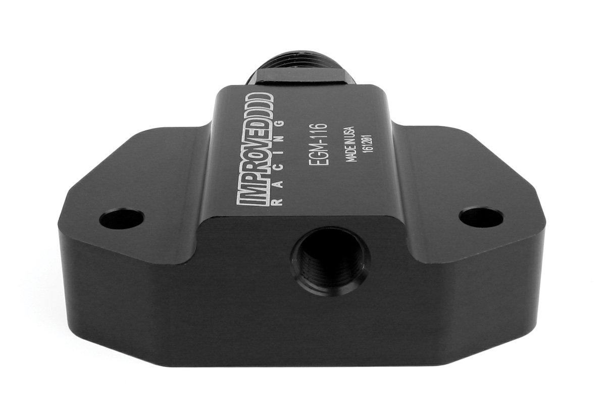 "1//8/"" NPT Improved Racing EGM-116 Oil Sensor Adapter for GM LS Engines"