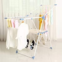 Drying Rack Laundry Clothes Hanger-Tidy Living (Blue)