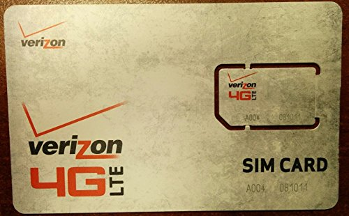 Verizon LTE Standard SIM Card