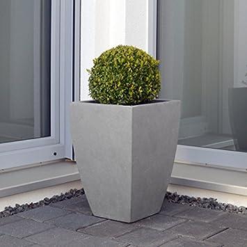 Plan Tara Planter Plant Pot Trough Planter Datura Fibregl Grey ... Gl Trough Vases Uk on