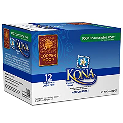 Copper Moon Kona Blend Single Cup Pod