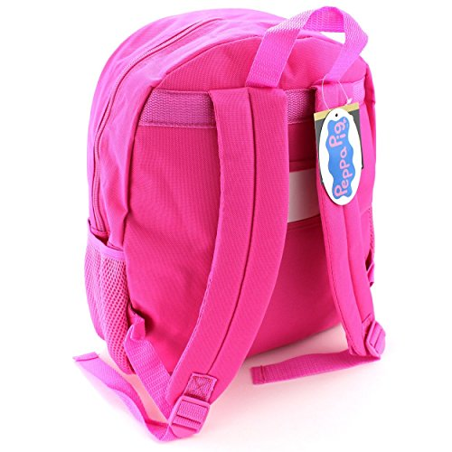 Peppa Pig Pink 14 Inch Backpack Import It All