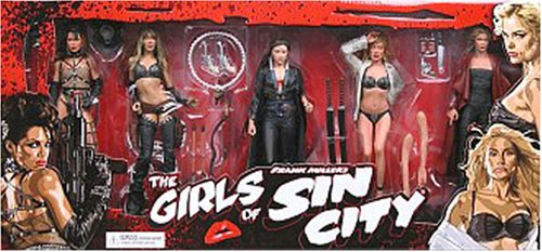 Girls of Sin City DeLuxe Color Variant Box Set from Sin City