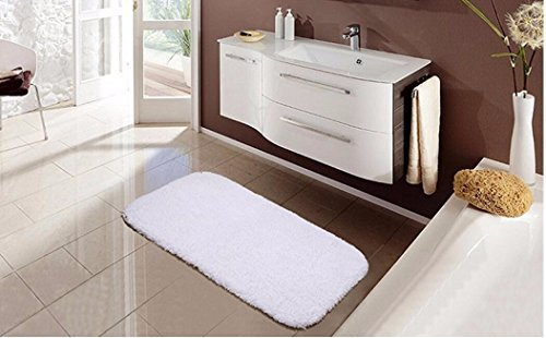 Cotton hair mats carpet thickened bath mat mat absorbent cotton towel -5070cm a by ZYZX