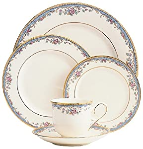 Lenox Southern Vista Gold-Banded 5-Piece Place Setting Service for 1  sc 1 st  Amazon.com & Amazon.com | Lenox Southern Vista Gold-Banded 5-Piece Place Setting ...