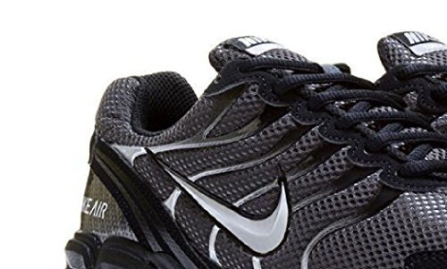 Nike Men Air Max Ltd (NIKE Mens Air Max Torch 4 Running Shoes (7.5) D(M) US, Anthracite/Metallic Silver/Black)