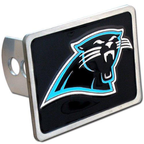 Siskiyou Carolina Panthers NFL Hitch Cover, Class II & III