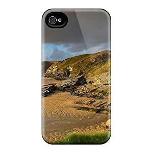 Fashion Protective Coast Of Britain Case Cover For Iphone 4/4s