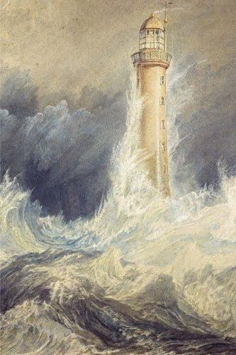Bell Rock Lighthouse - Bell Rock Lighthouse, William Turner: Journal (notebook, composition book) 160 Lined / ruled pages, 6x9 inch (15.24 x 22.86 cm) Laminated