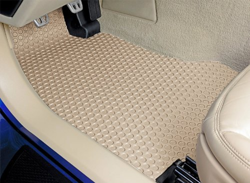 2001 01 2002 02 2003 03 2004 04 2005 05 2006 06 Ivory Lexus LS430 Lloyd Mats All Weather Rubber Floor Mats Front and Rear Set
