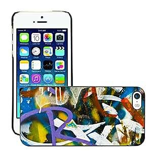Print Motif Coque de protection Case Cover // V00002253 detalle de la pintada // Apple iPhone 5 5S 5G