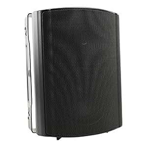 Visaton VS-WB13B - Altavoces (Negro, Altavoces empotrados en pared/techo, 95 - 20000 Hz, 140 x 180 x 240 mm, -25 - 70 °C, IP 54)